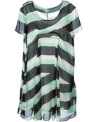 Kenzo 'Z Stripes' Dress - Lyst