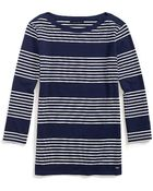 Tommy Hilfiger Striped Top - Lyst