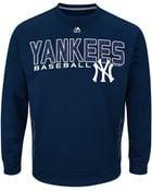 Majestic Mens New York Yankees Crew Sweatshirt - Lyst