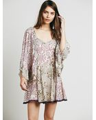 Free People Womens Crystal Prism Dress - Lyst