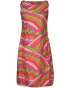 Bini Como Short Dress - Lyst