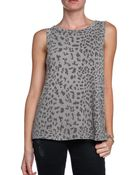 Current/Elliott Printed Muscle Tank - Lyst