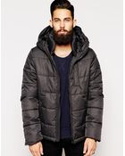 G-Star RAW G Star Quilted Hooded Jacket Whistler Altitude Nylon - Lyst