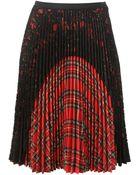 Antonio Marras Pleated Skirt - Lyst