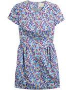 Mary Katrantzou Liv Printed Cotton Dress - Lyst