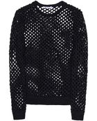 T By Alexander Wang Long Sleeve Sweater - Lyst