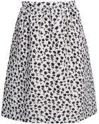 Max Mara Knee Length Skirt - Lyst