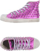 Gienchi Hightop Sneaker - Lyst