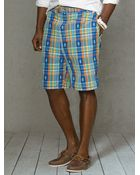 "Polo Ralph Lauren 8"" Plaid Sanibel Swim Trunk - Lyst"