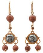 Bottega Veneta Stone Earrings - Lyst