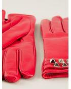 Valentino 'Rockstud' Gloves - Lyst