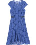 Rebecca Taylor Lace Dress - Lyst