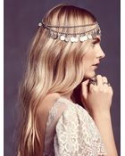 Free People Womens Dripping Coins Headpiece - Lyst