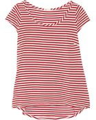 AG Adriano Goldschmied Striped Cotton And Modal-Blend Jersey T-Shirt - Lyst