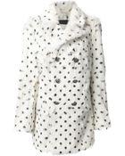 Each X Other Dalmatian Print Coat - Lyst