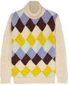 Ganni Long Sleeve Rollneck Sweater - Lyst