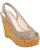 Nine West Axey Wedge Sandals - Lyst