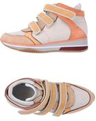 Geox High Top Trainers - Lyst