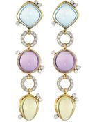 Roberto Coin Ipanema Cabochon Drop Earrings - Lyst