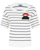 Sonia by Sonia Rykiel Intarsia Knit Striped Sweater - Lyst