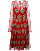 Dolce & Gabbana 'Sacred Heart' Print Dress - Lyst