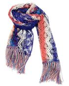 Missoni Multicolor Knit Scarf - Lyst