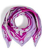 Emilio Pucci Printed Silk Scarf - Lyst