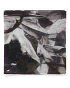Title Of Work B  W Leaves Print Pocket Square - Lyst