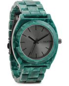 Nixon Time Teller Acetate Analog Watch - Lyst