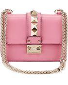 Valentino Lock Micro Mini Shoulder Bag - Lyst
