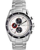 Michael Kors Mens Chronograph Lansing Stainless Steel Bracelet Watch 45mm - Lyst
