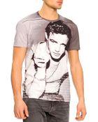 Dolce & Gabbana Marlon Brando-Print T-Shirt - Lyst