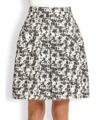 Oscar de la Renta A-Line Skirt - Lyst