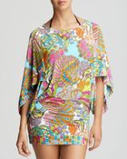 Trina Turk Coral Reef Swim Cover Up Tunic - Lyst