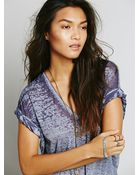 Free People Womens The Keep Me Tee - Lyst