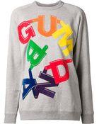 Julien David Printed Cotton Sweatshirt - Lyst