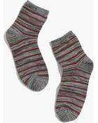 Madewell 1937 Marled Stripe Ankle Socks - Lyst