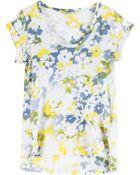 Splendid Waterville Floral Cotton Top - Lyst