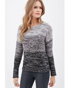 Love 21 Marled Knit Ombré Sweater - Lyst