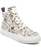 Eytys Odyssey Canvas Kyiv High-Top Sneakers - Lyst