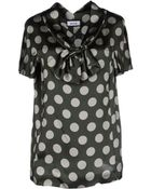 Moschino Blouse - Lyst
