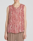 Vince Top - Tribal Dot Shell - Lyst