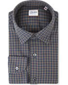 Slowear Kurt Checked Regular-fit Cotton Shirt - Lyst