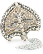 Judith Leiber Couture Punkah Fan Crystal Minaudiere - Lyst
