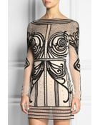 Temperley London Crivelli Embellished Embroidered Tulle Mini Dress - Lyst