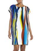 Diane von Furstenberg Tania Silk Shift Dress - Lyst
