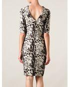 Blumarine Animal Print Dress - Lyst