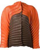 Issey Miyake Color Blocked Jacket - Lyst