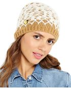 Betsey Johnson Lacey Knit Beanie - Lyst