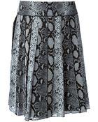 Proenza Schouler Pleated Crepe Skirt - Lyst
